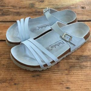 Birkenstock Betula 40 L9 Blue Strappy Sandals